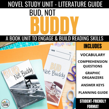 Bud, Not Buddy Foldable Novel Study Unit