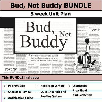 Bud, Not Buddy Unit Bundle