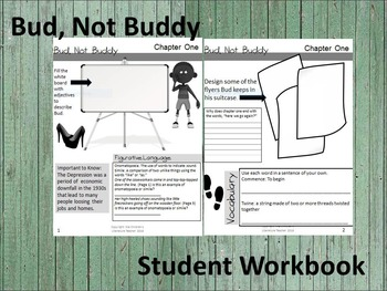 Bud, Not Buddy Novel Study Student Workbook