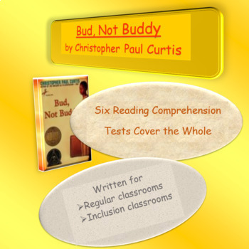 Bud, Not Buddy Reading Comprehension Tests ~ Check out my