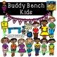 Buddy Bench Kids Anti-Bullying Clip Art Kid-E-Clips Commer