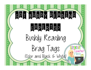 Buddy Reading Brag Tags