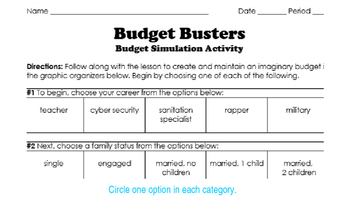 Budget Busters
