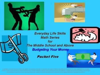 Budgeting Your Money: Everyday Life Skills Math Series: Bo