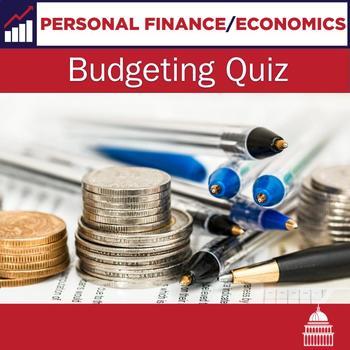 Budgeting quiz