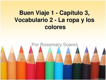 Buen Viaje 1 - 3.2 - La ropa y los colores