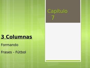 Spanish Soccer Unit - Forming Sentences POWER POINT