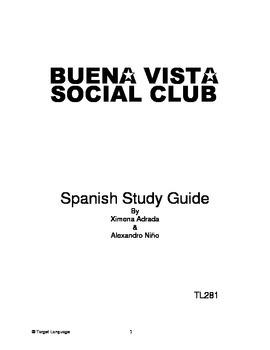 Buena Vista Social Club-Spanish Study Guide
