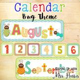 Calendar - Bug Calendar Pack