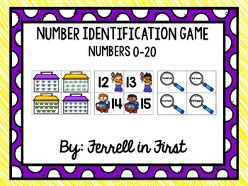 Bug Catcher Number Identification Game