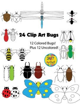 Free Bug Clip Art