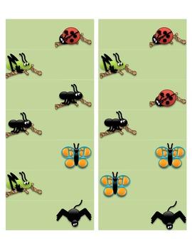 Bug Label Design