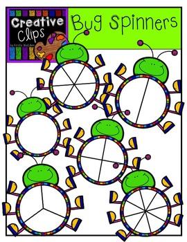 Bug Spinners {Creative Clips Digital Clipart}