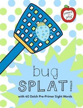 Bug Splat - Dolch Sight Words (Pre-Primer)