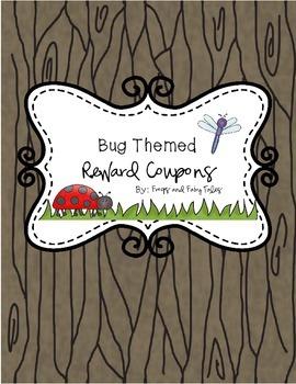 Bug Theme Reward Coupons