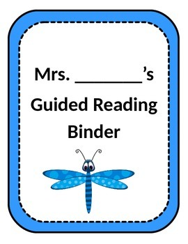 Bug Themed Binder Covers