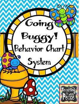 Bug or Garden Theme Behavior Chart System *editable*