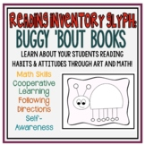 Buggy 'Bout Books Glyph:  Get to Know You Math Activity Ab