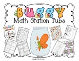 Buggy Math Station Tubs