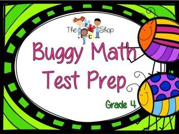 Buggy Math Test Prep Grade 4