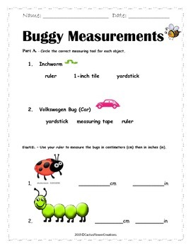 Buggy Measurements