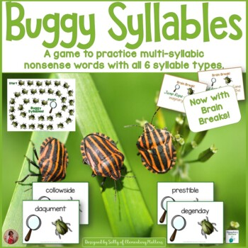 Reading Nonsense Words: Buggy Syllables