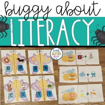Buggy about Literacy Spring Activities