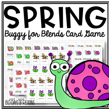 Buggy for BLENDS: A spring fluency game