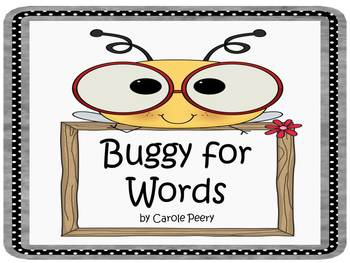 Buggy for Words Dolch First Grade
