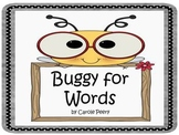 Buggy for Words Dolch PreK