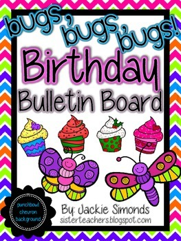 Bugs, Bugs, Bugs! Birthday Bulletin Board Pack *Punch Bowl