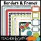 Bugs MEGA-BUNDLE Kit: Clipart, Borders, Frames, Buntings, Papers