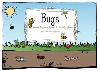 Bugs Mini Unit - Writing and Math Activities Pre-K and Kin