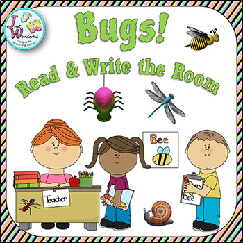 Write the Room - Bugs / Insects
