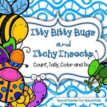 Bugs & Insects *Color, Count,Tally & Do