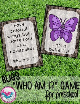 Bugs and Insects Comprehension Activity