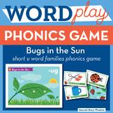 Bugs in the Sun Short U Word Families Phonics Game