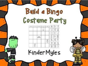 Build A Bingo Costume Party