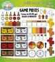 Build A Board Game Clipart Set 7 — Over 80 Colorful Graphics