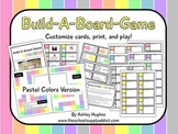 Build-A-Board-Game: Pastel Colors Version