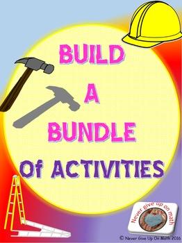 Build A Bundle of ACTIVITIES