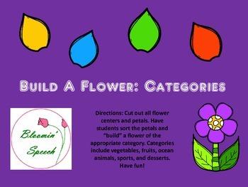 Build A Flower: Categories