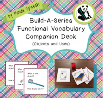 $1.00 Deal Build-A-Series Functional Vocabulary Deck (Obje