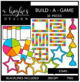 Build-A-Game Stars {Graphics for Commercial Use}