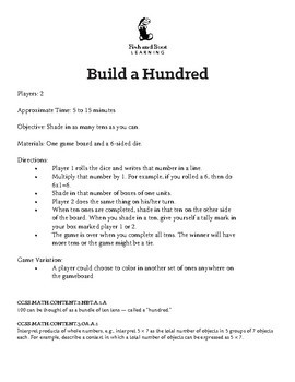 Build A Hundred