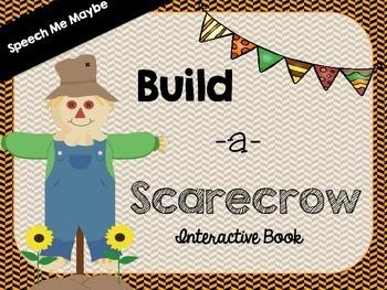 Build A Scarecrow: Interactive Book