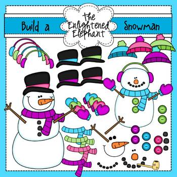 Build A Snowman Clip Art