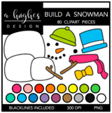 Build A Snowman {Graphics for Commercial Use}