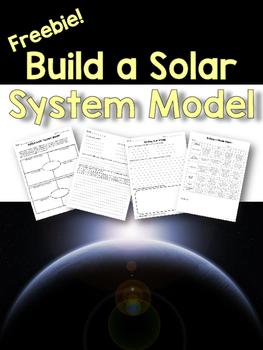 Build A Solar System Model {FREEBIE}