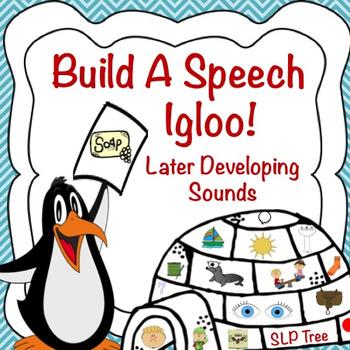 Articulation Winter Craftivity: Build A Speech Igloo! Late
